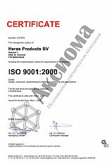 Heras Certificate of Compliance