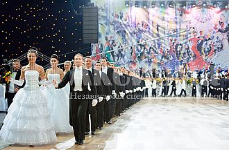 Seventh homecoming of debutantes and friends of Viennese Ball